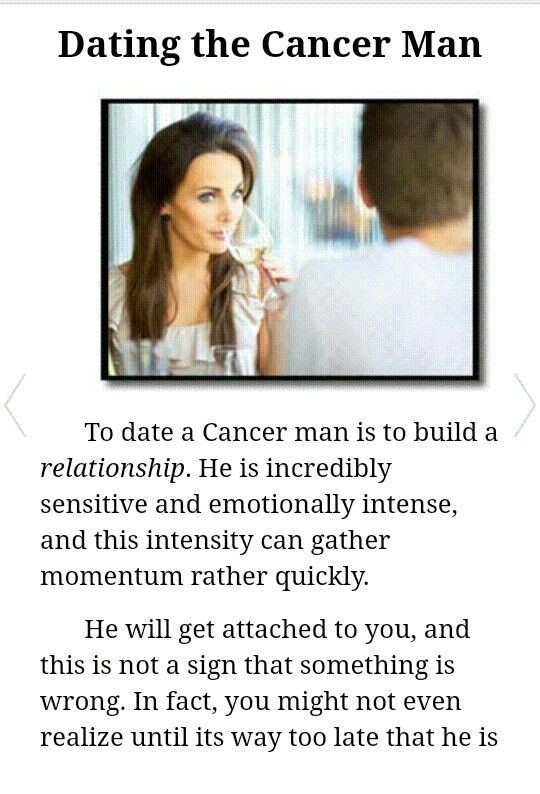 dating a cancer moon