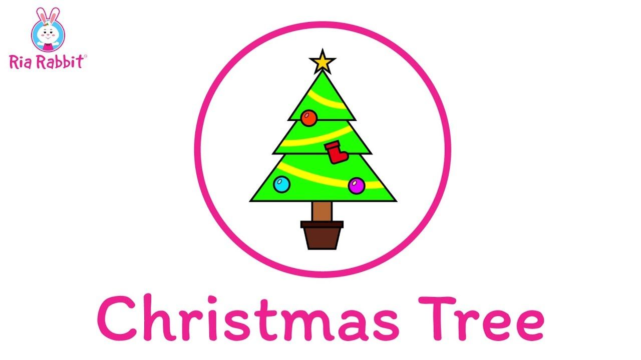 A Fun Video That Teaches Toddlers And Preschoolers How To Draw And Colour A Christmas Tree In 2020 Tree Drawing For Kids Drawing For Kids Christmas Tree Drawing