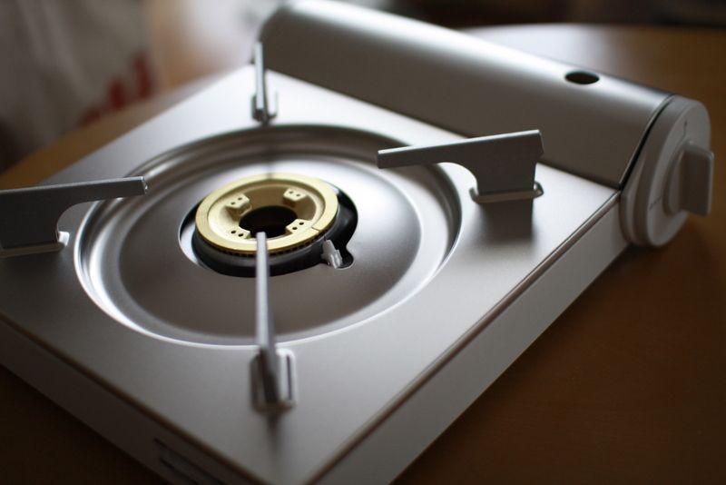 Muji nabe tools - tabletop stove