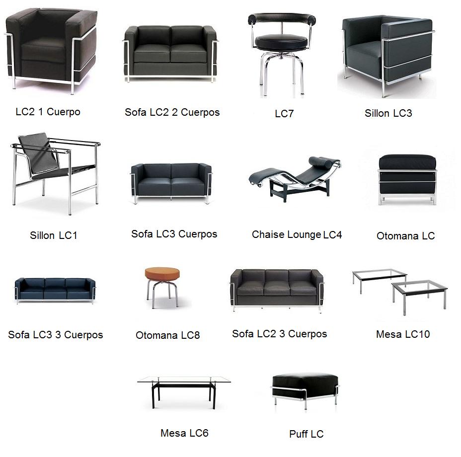 Le corbusier muebles modernos mamma mia muebles de for Le corbusier muebles