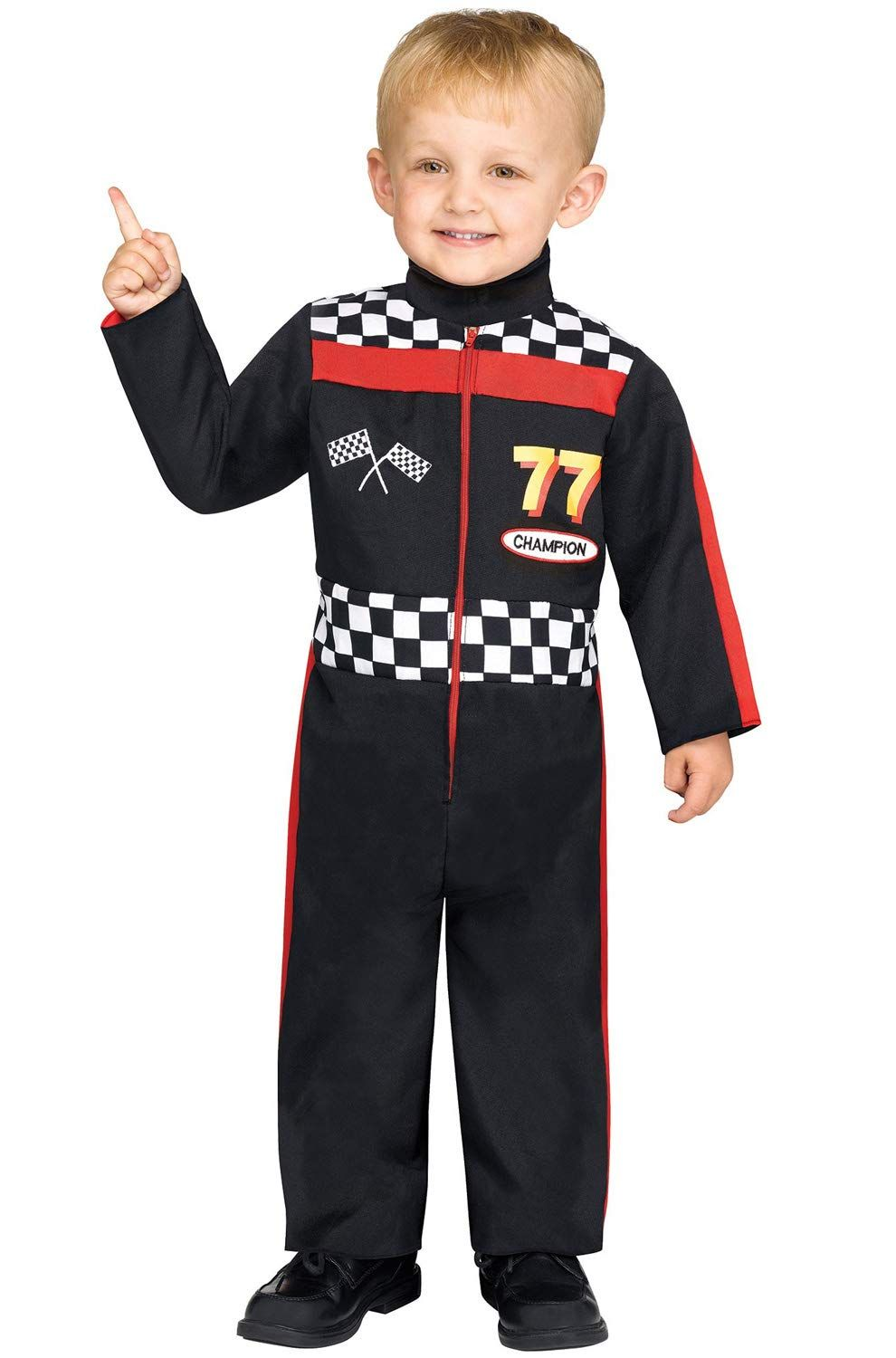 Fun World Boys Race Car Driver Toddler Costume Multicolor Small Remain To The Race Car Driver Halloween Costume Toddler Costumes Toddler Halloween Costumes