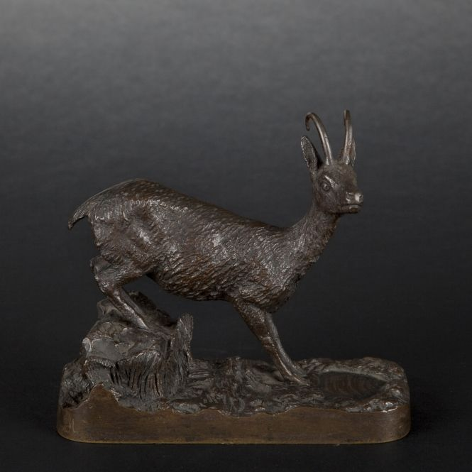Bronze chamois - Furniture and works of art - Bronze