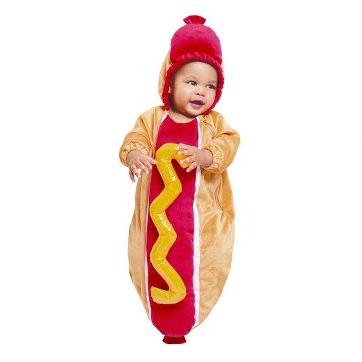 Target | Hot Dog Baby Halloween Costume  sc 1 st  Pinterest & Target | Hot Dog Baby Halloween Costume | Baby Halloween Costumes ...