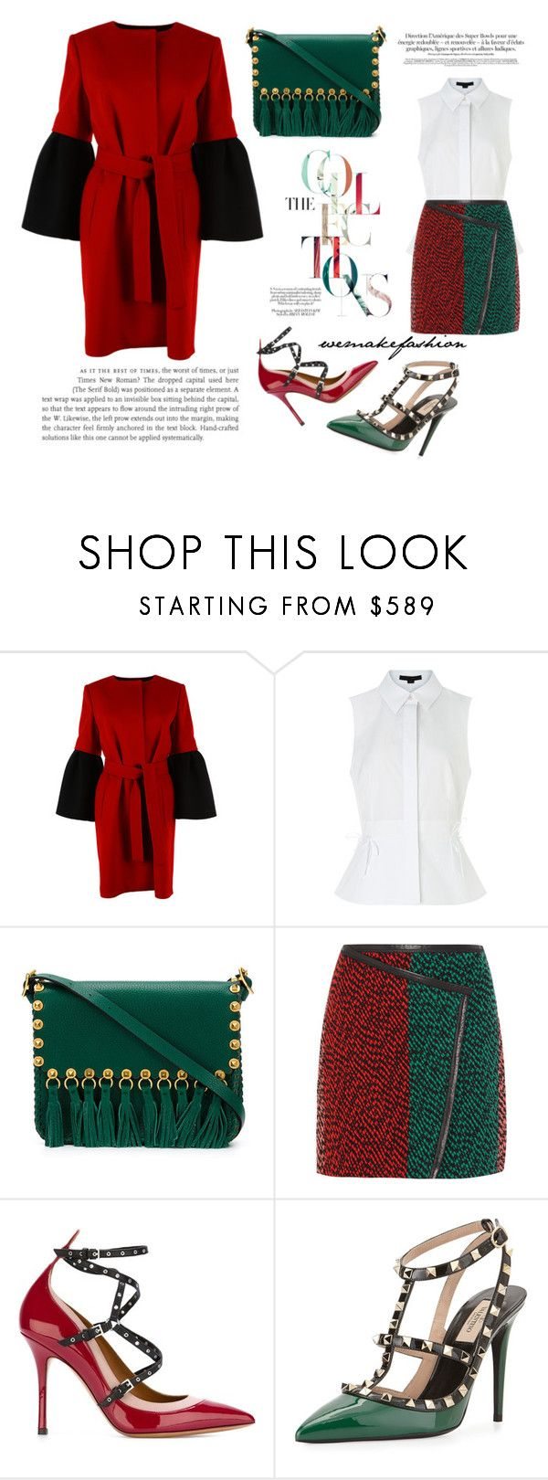 """""""Colors"""" by wemakefashion ❤ liked on Polyvore featuring Albino, Alexander Wang, Valentino, Fendi, women's clothing, women's fashion, women, female, woman and misses"""