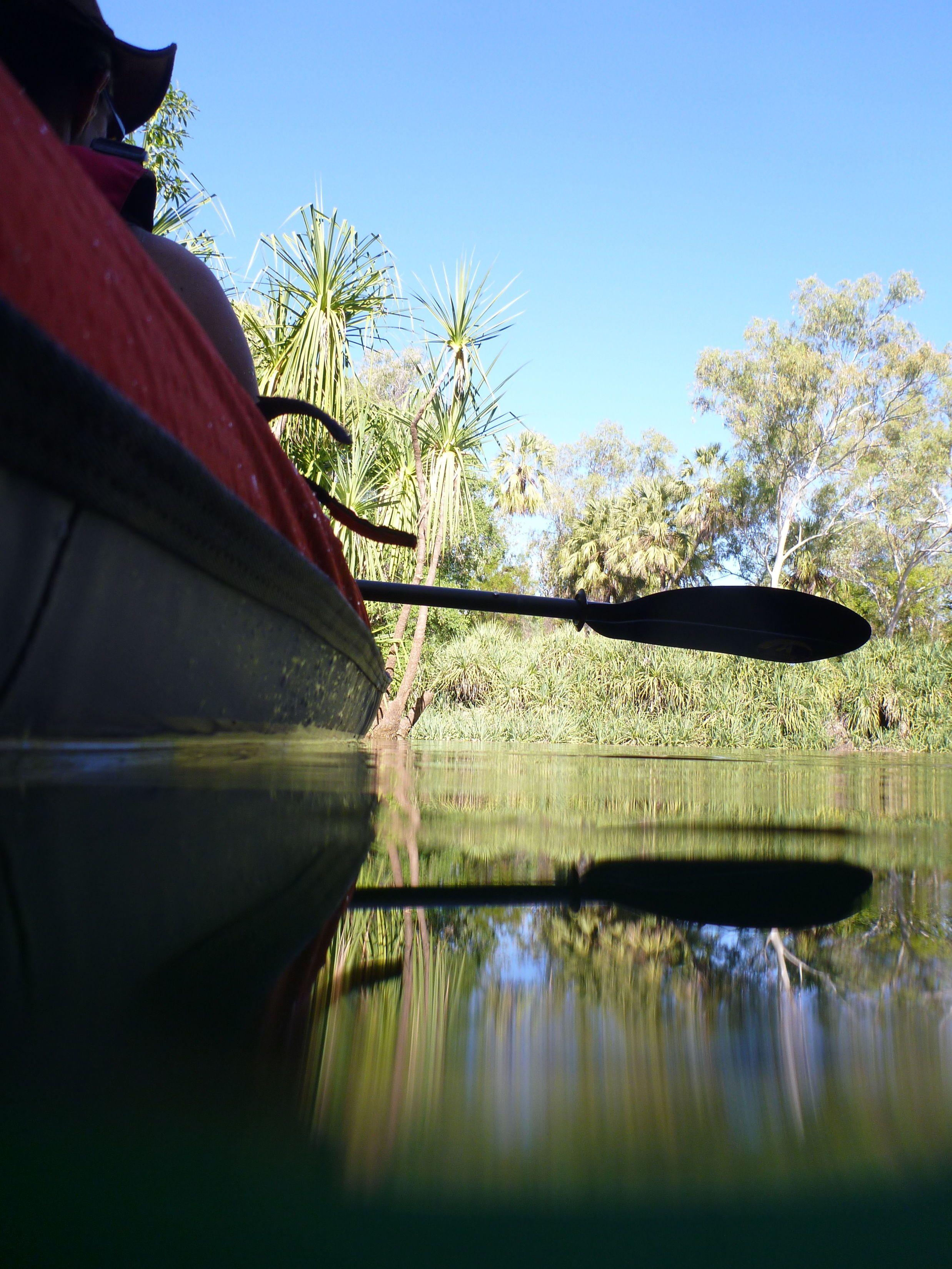 Kayaking Lawn Hill Creek Bodjamulla N P Kayaking Inflatable Kayak Lawn