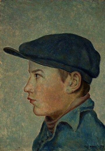 Pojan Kuva (Eeli Kaitera)  Vilho Lampi, 1934, Expressionism