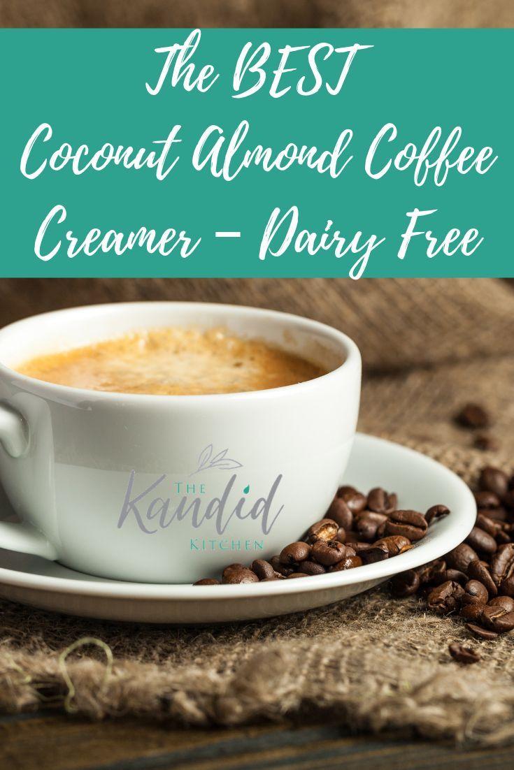 Coconut Almond Coffee Creamer Dairy Free Dairy free