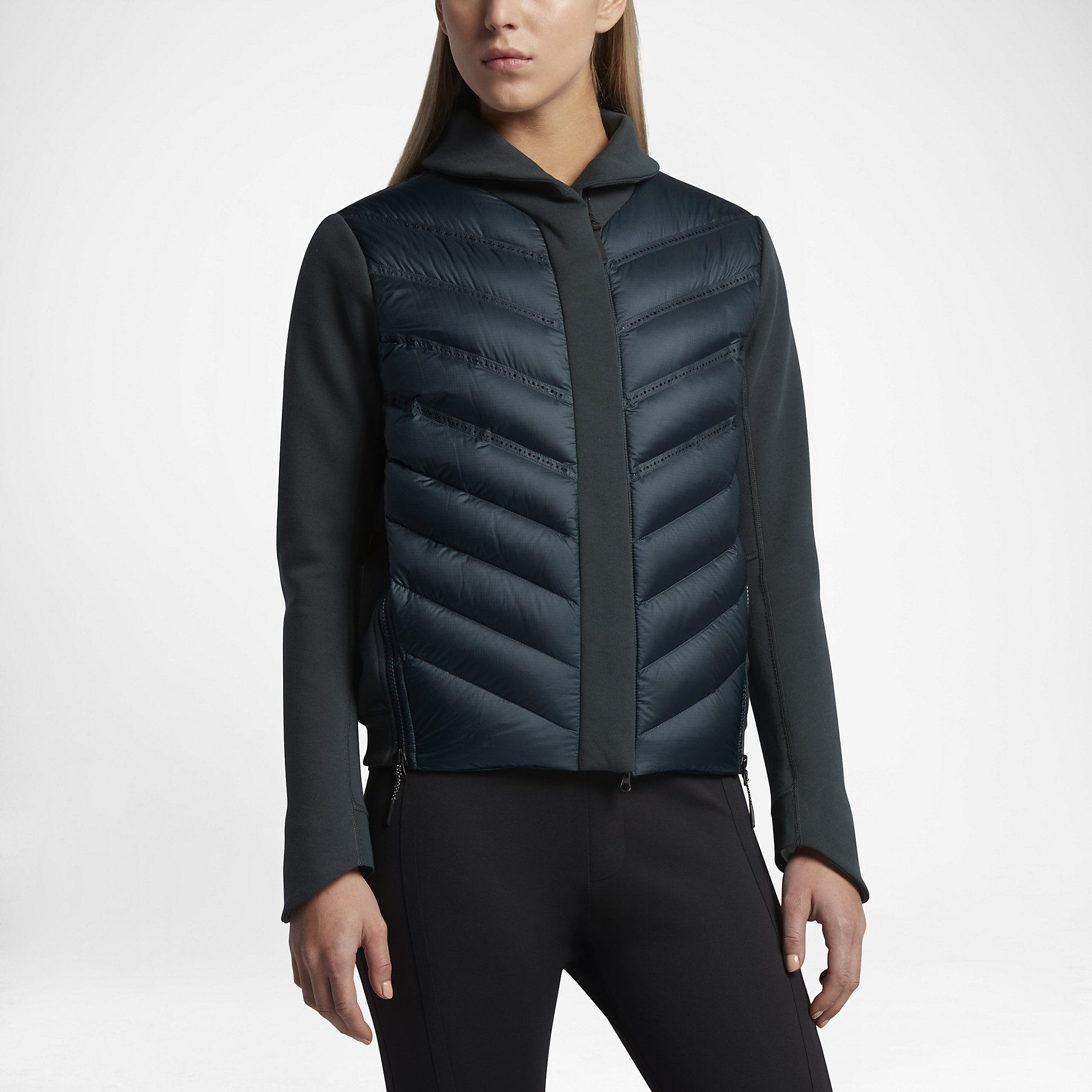 nike sportswear tech fleece aeroloft Bomber jacket women