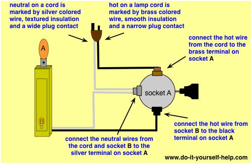 lamp switch wiring diagrams  doityourselfhelp  lamp
