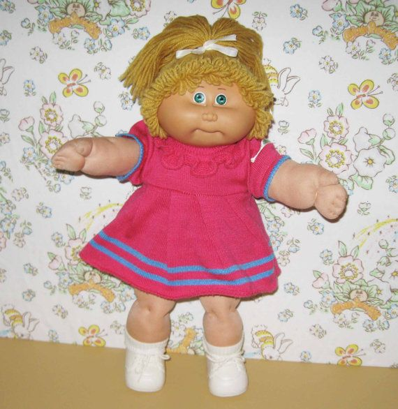 Jesmar Cabbage Patch Kid 1985 by asterdaisy on Etsy | Toy Box ...