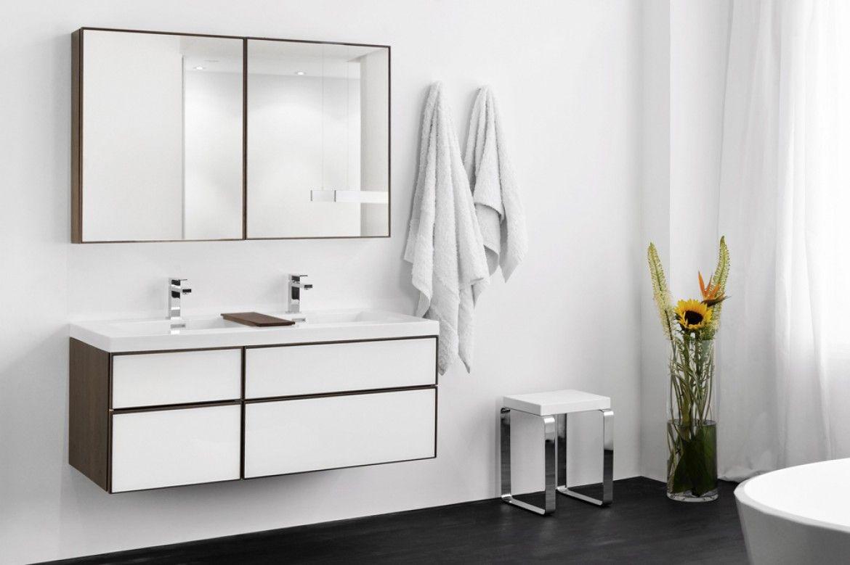 Wet Style Frame White Frame Collection Modern Bathroom Vanity