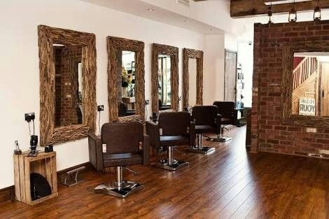 Rustic Hair Salon Rustic Salon Salon Decor Small Hair Salon