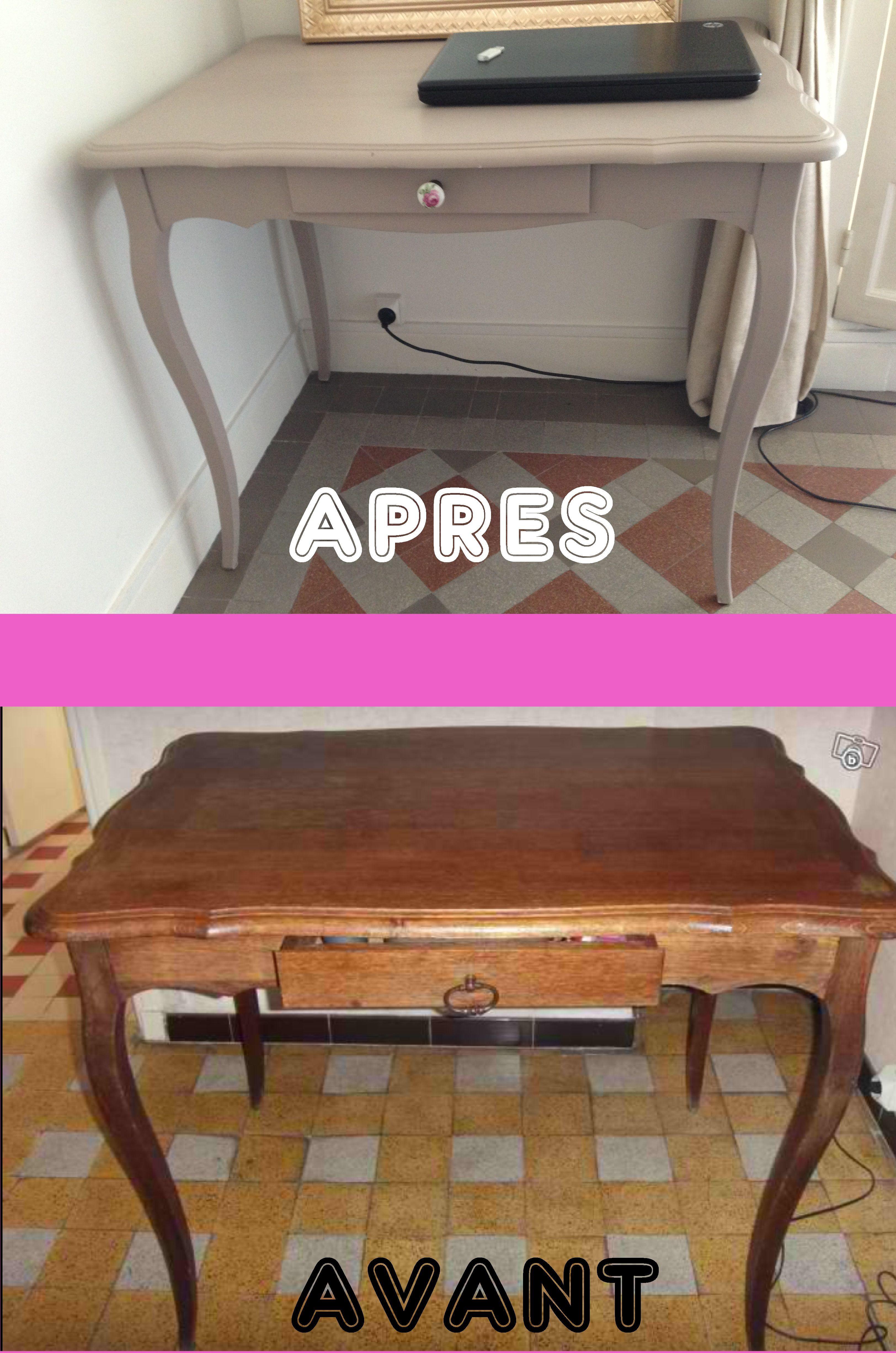 Bureau Avant Apres A Vendre Mobilier De Salon Transformation De Meubles Relooking De Mobilier