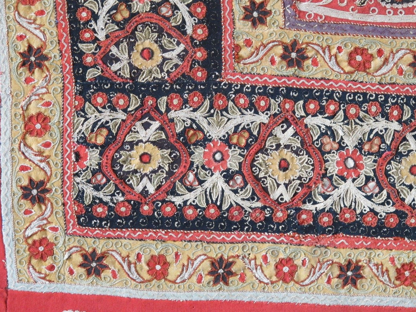 Exceptional Persian Rasht Embroidery