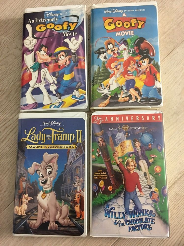 Lady And The Tramp Ii A Goofy Movie An An Extremely Goofy Movie Willie Wonka Goofy Movie Lady And The Tramp Goofy