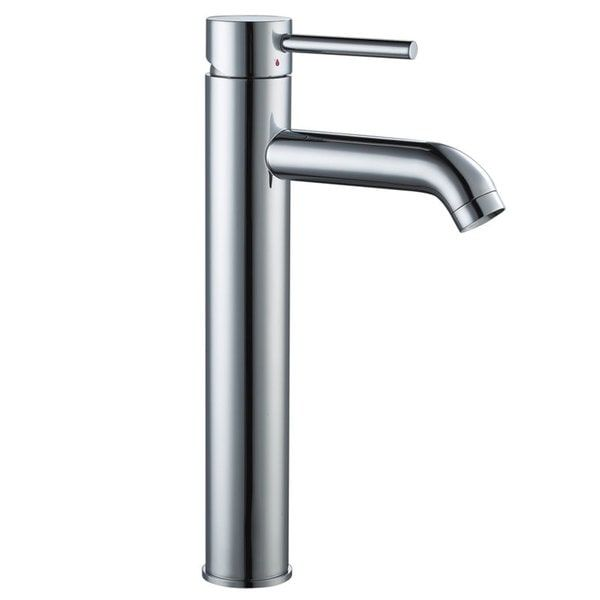 Tall Single Handle Bathroom Vessel Sink Faucet Nevada City House