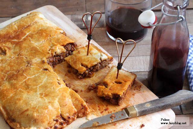 Lazy Blog: Empanada casera de carne picada