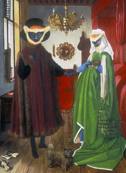 Louise Francke S New Kind Of Marriage In The Arnolfini Wedding Chamber