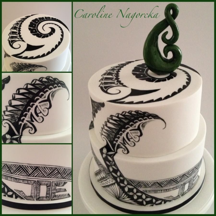 Wedding Cake Decorations Nz : New Zealand/Samoan cake Cakes & Cake Decorating ~ Daily ...