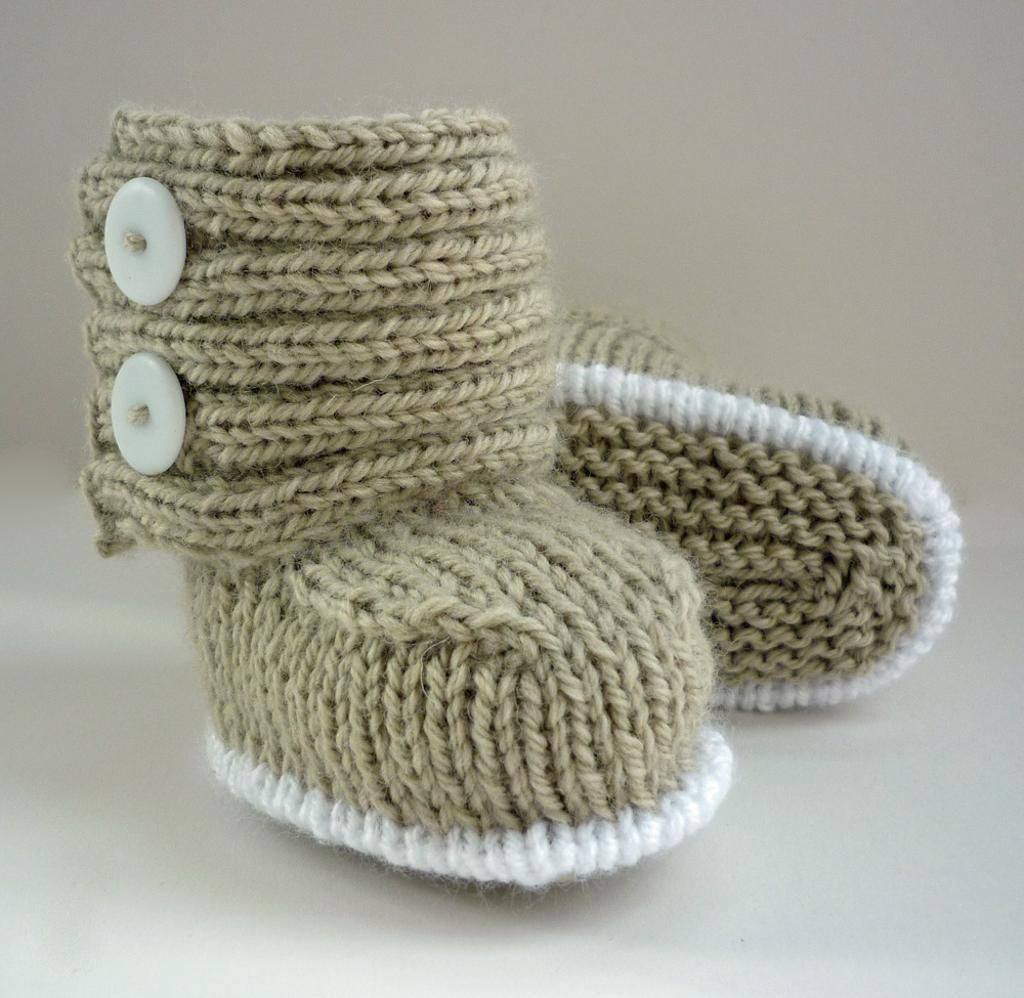 Jaden Knitted Baby Boots | Baby boots, Knitted baby and Babies