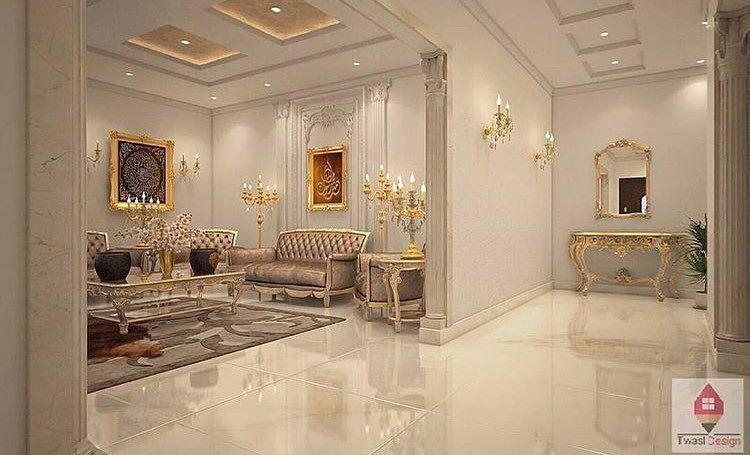 من اعمالنا في التصميم الداخلي للاستفسار والطلب 0559369666 من خدماتنا تنفيذ المحلات التجارية تنفيذ كشك Villa Design Mirror Design Wall Dream House