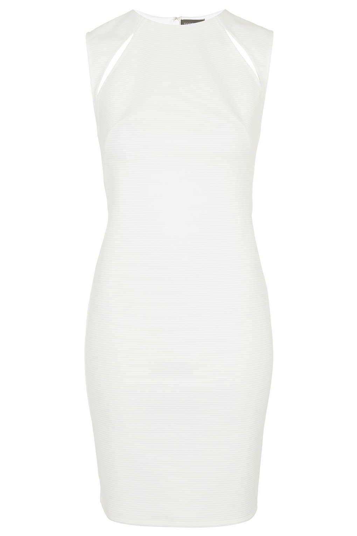 Shoulder Splice Bodycon Dress Topshop Bodycon Dress Bodycon Dress Dresses [ 1530 x 1020 Pixel ]