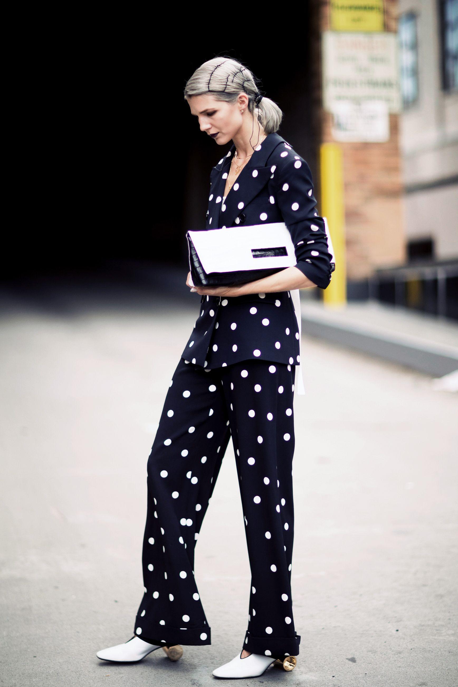 New York Fashion Week Street Style Spring 2018 Street
