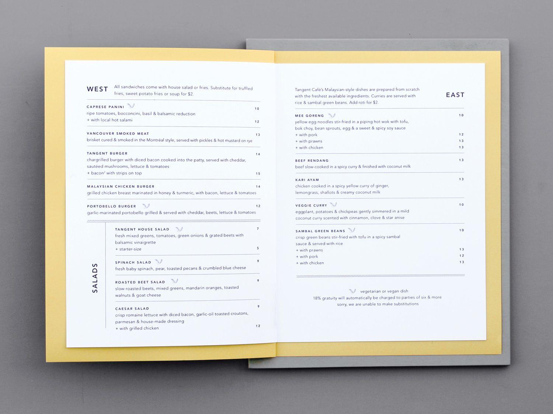 Five Thousand Fingers For Tangent Cafe Blog Design Inspiration Cafe Branding Graphic Design Fun
