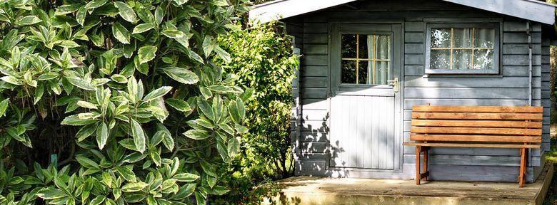 plan cabane bois de jardin+ abri jardin bois+cabanes à outils+cabane