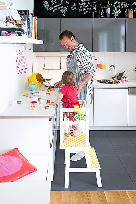 Ikea Hack, Lernturm selber bauen, Learning Tower, Learning Tower - ikea küche anleitung