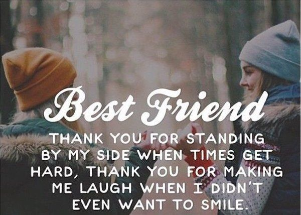 Quote About Gratitude Friends Quotes Best Friend Quotes Funny Quotes