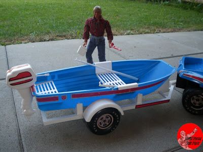 Toys from the Past: #42 BIG JIM – BOAT 'N BUGGY SET (1973)