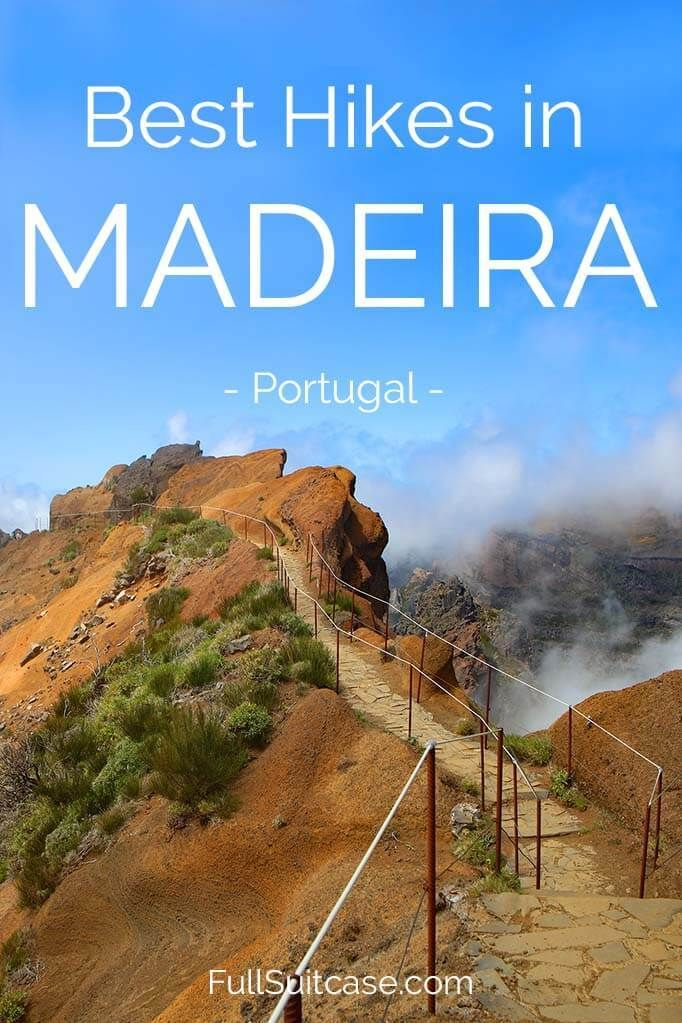 Photo of Hiking in Madeira – 6 Best Hikes and Levada Walks (+ Map)