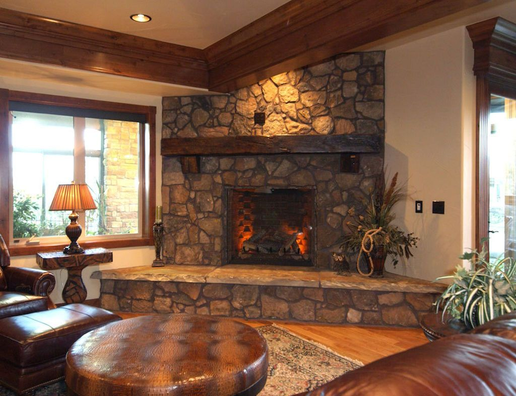 Marvelous Stone Fireplace Designs The Exclusivity Charming