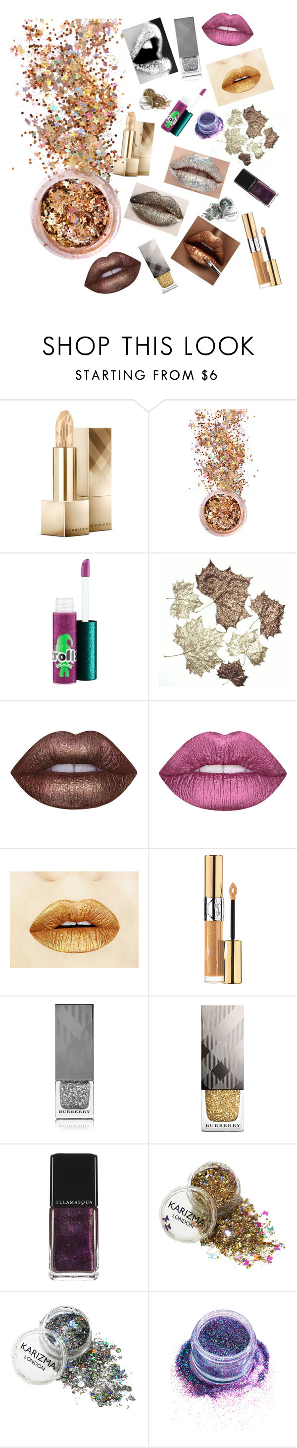 """""""Untitled #96"""" by guiseppe-zanotti ❤ liked on Polyvore featuring beauty, Burberry, In Your Dreams, MAC Cosmetics, Lime Crime, Yves Saint Laurent and Illamasqua"""