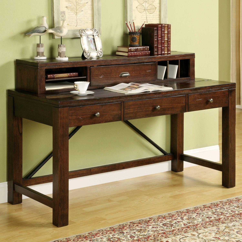Riverside Furniture Castlewood Writing Desk With Hutch