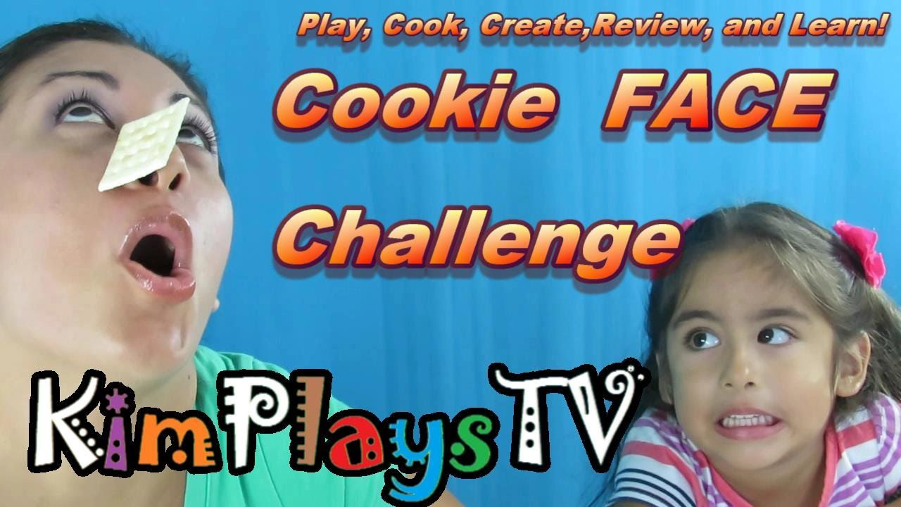 Cookie on FACE CHALLENGE  by KimpPlaysTV