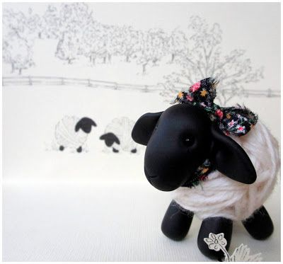 Ball of yarn sheep? Too cute!!!