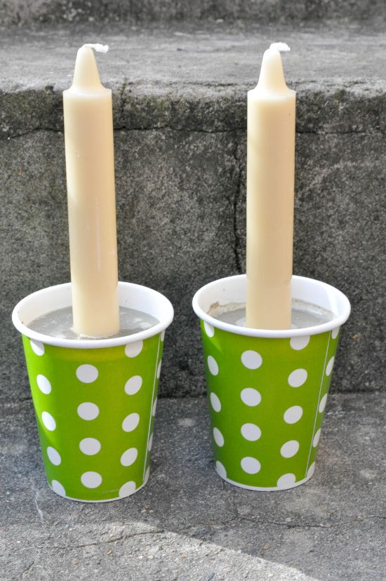 Concrete DIY Candle Holders Diy concrete, Diy candle holders and - mein garten rtl