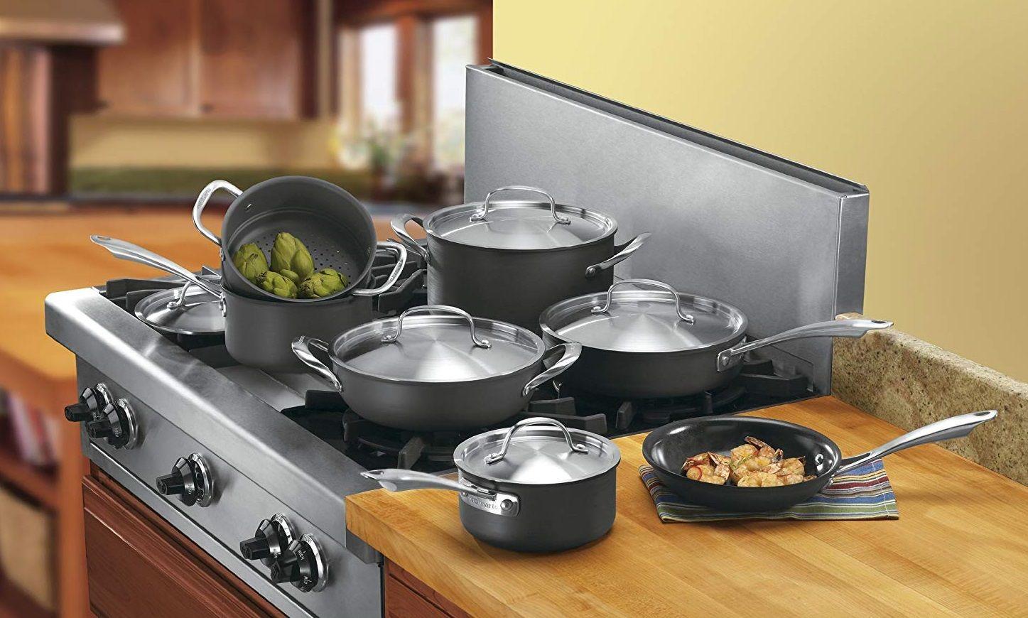 Best Pots And Pans Set Reviews Pots And Pans Set Non Stick Hard Anodized Cookware Pots And Pans Sets