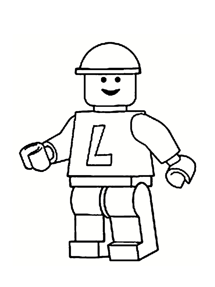 modèle lego | Gabarit personnage lego | Pinterest