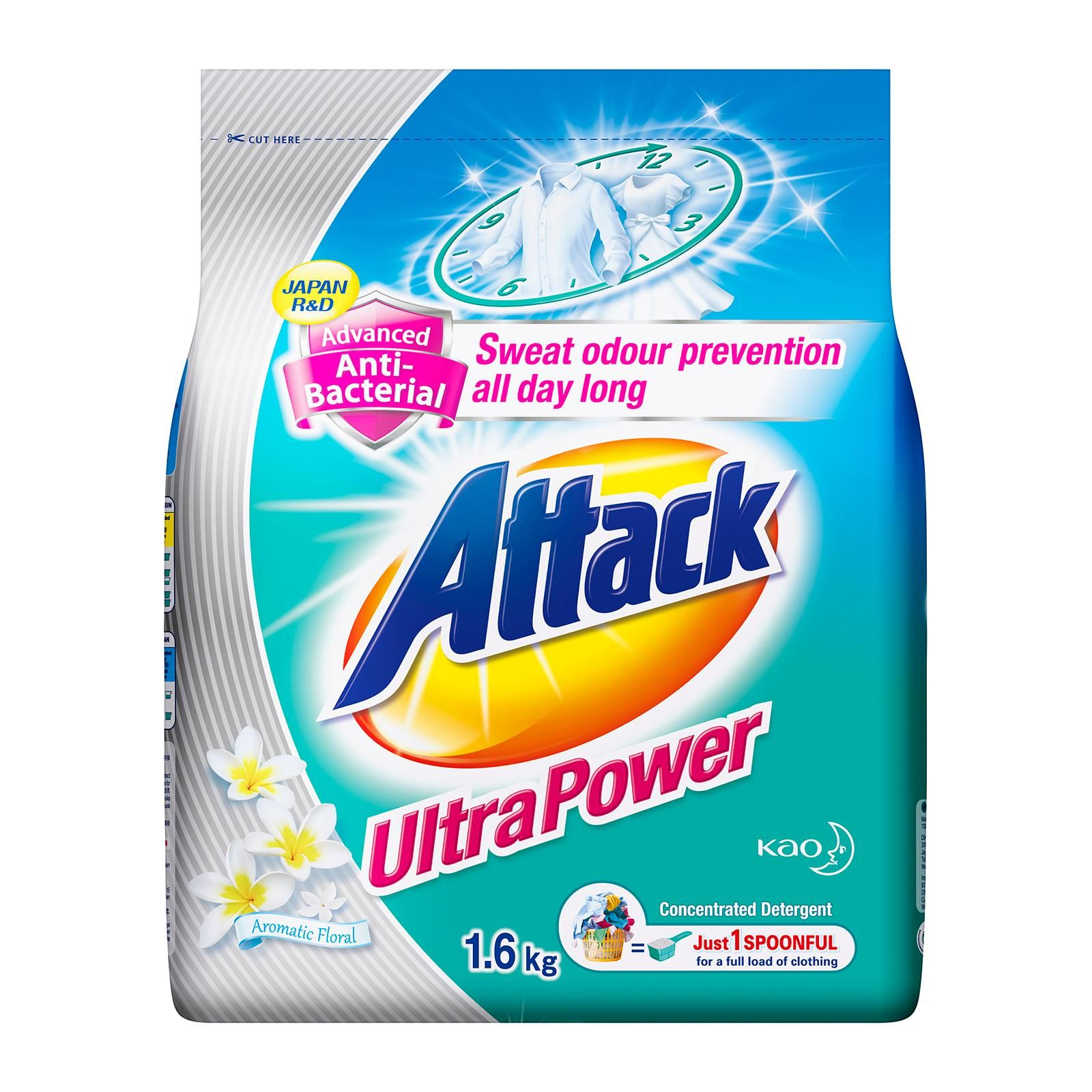 Attack Ultra Power Laundry Detergent Laundry Detergent Brands