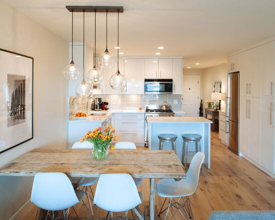 Idéias Sala  Site Decorfacil  106  Pinterest  Kitchens Fascinating Small Kitchen And Dining Design Review