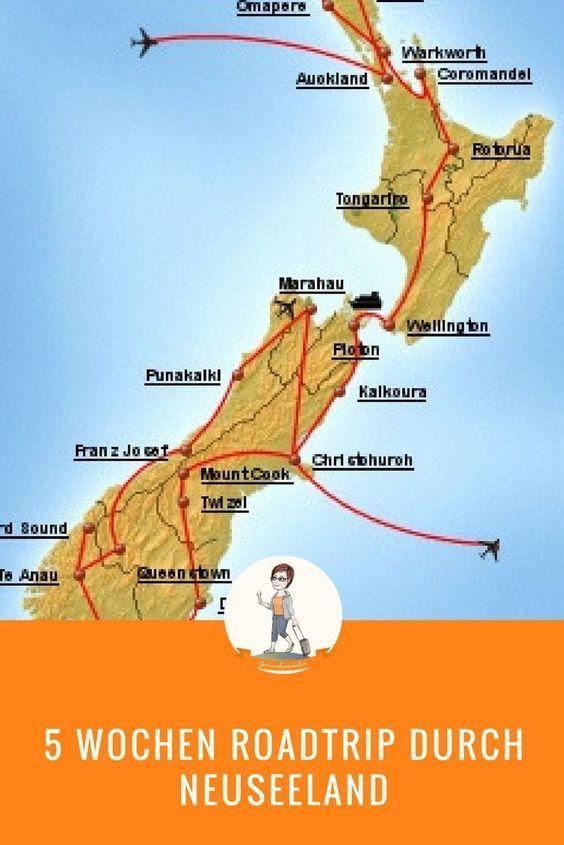 Roadtrip Neuseeland Von Der Nordinsel Zur Sudinsel Neuseeland