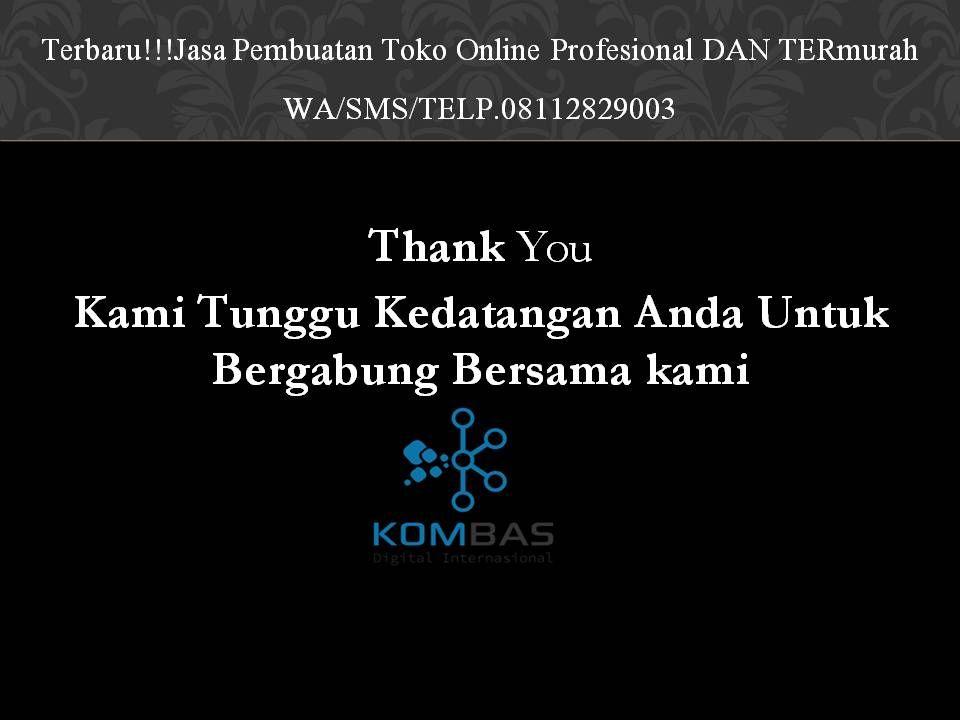 Terbaru Jasa Pembuatan Toko Online Profesional Dan Termurah Wa Sms Telp 08112829003 Toko Persamaan Sms
