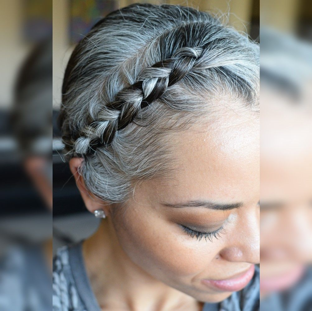 Photo of Silver Sister Spotlight with Rhiannon – The Gray Hair Journey