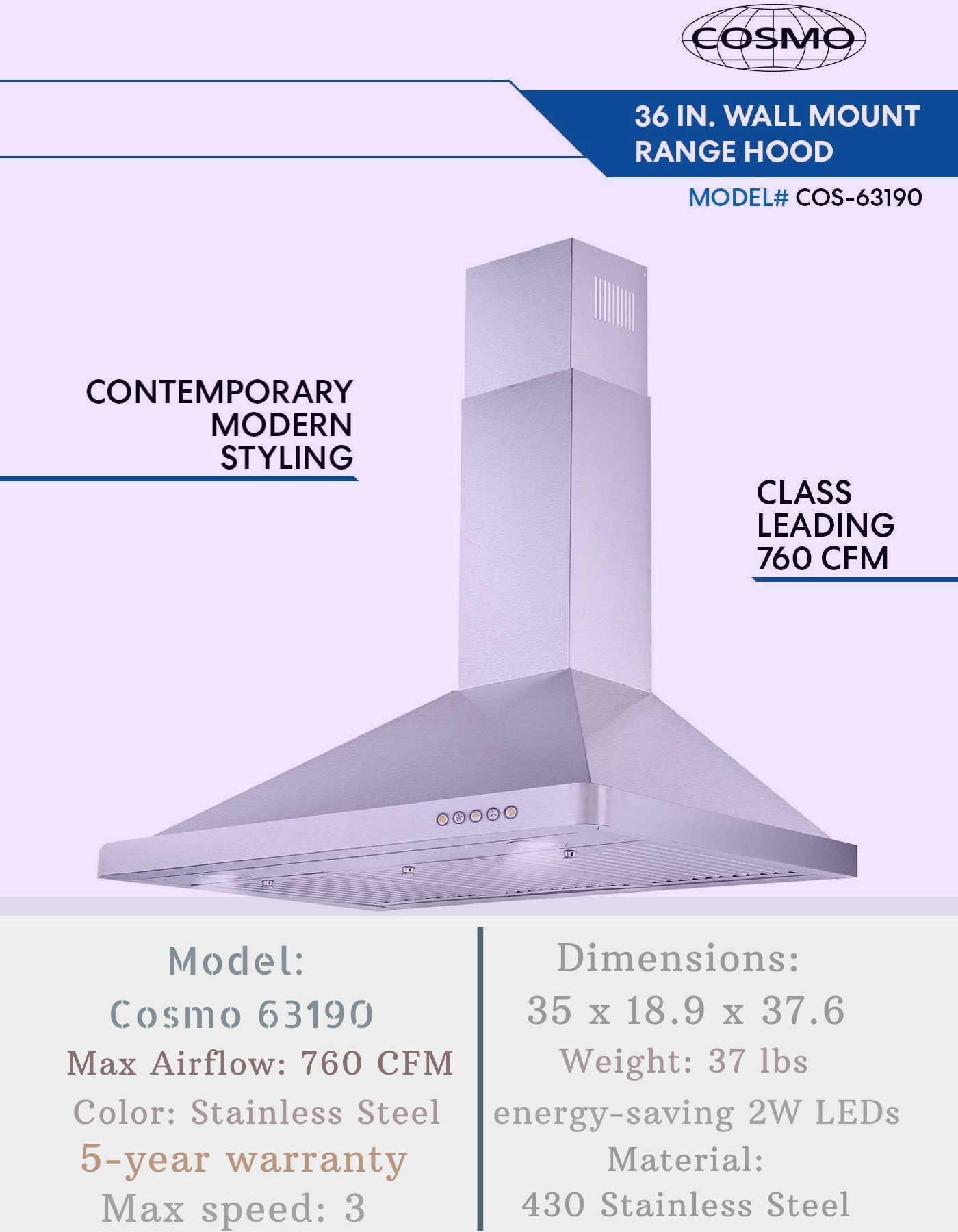 Best Cosmo Range Hood Reviews For 2020 Range Hood Reviews Range Hood Cosmos