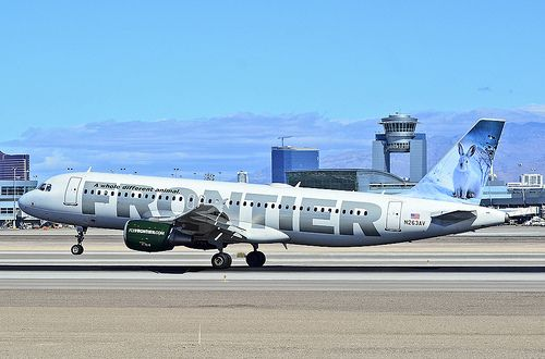 N263AV Frontier Airlines 2002 Airbus A320-214 - cn 1860 - McCarran International Airport, Las Vegas