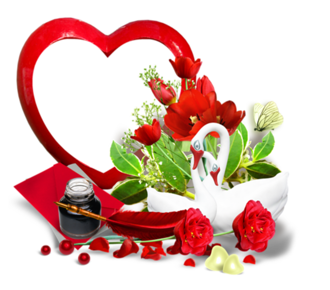 Cadre St Valentin Boarders And Frames Happy Valentine Happy Friendship Day