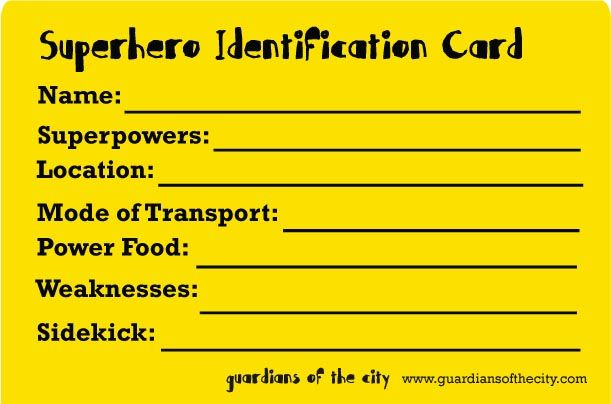 Super Hero Id Card Template Google Search Summer Reading Program Reading Club Id Card Template